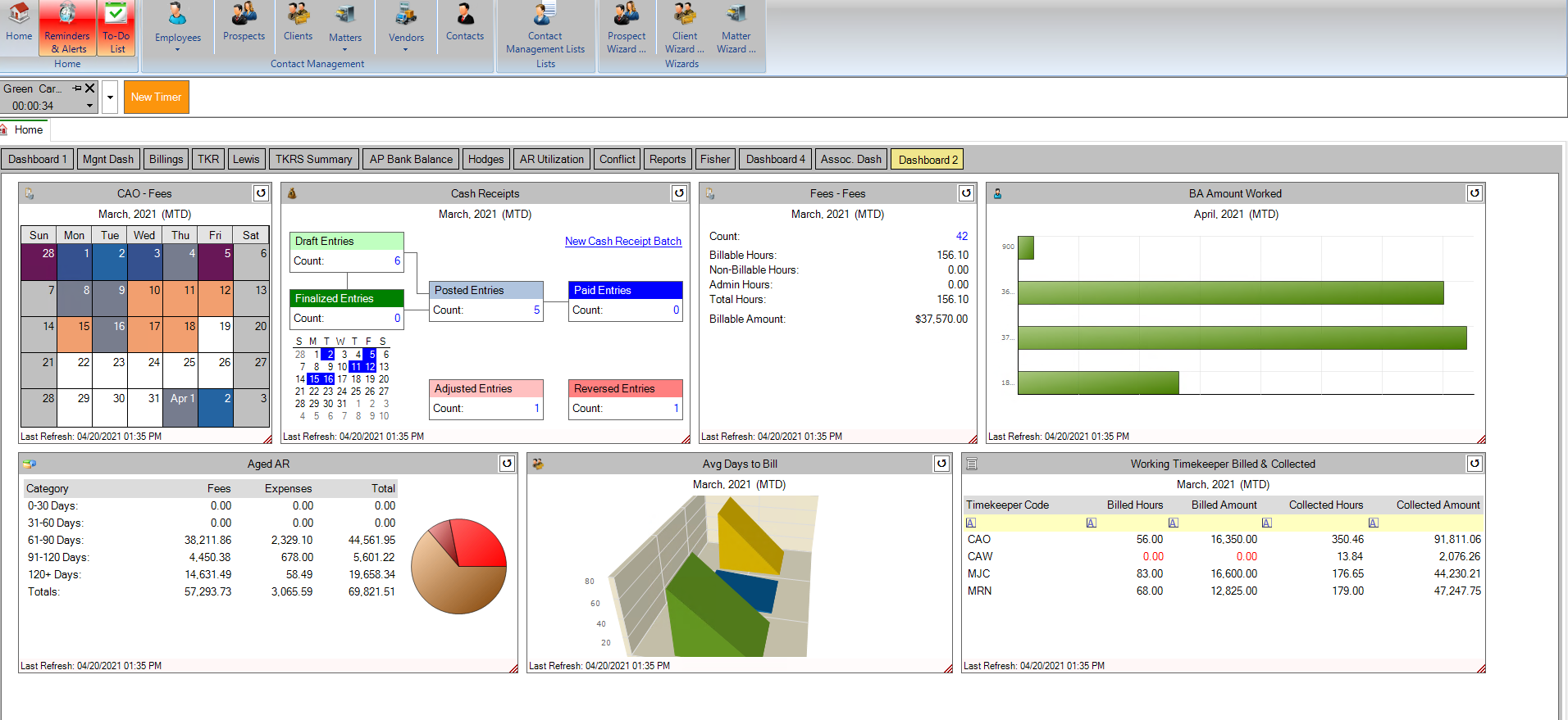 Metrics from Coyote Analytics software